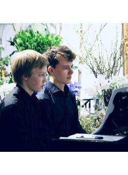 Mikael Loponen and Samuel Eriksson