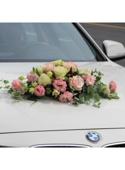 Flowers for car